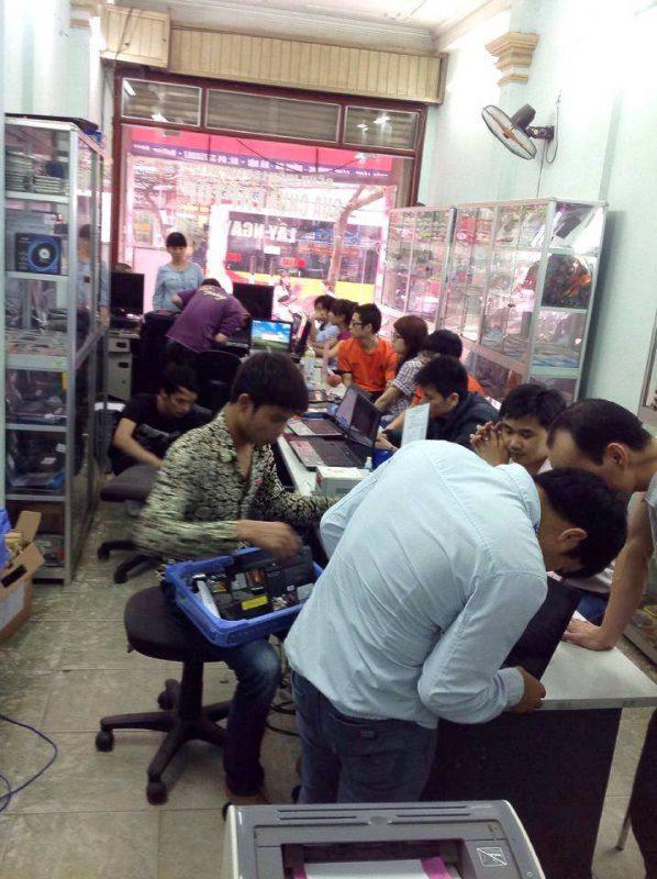 đào tạo sửa laptop