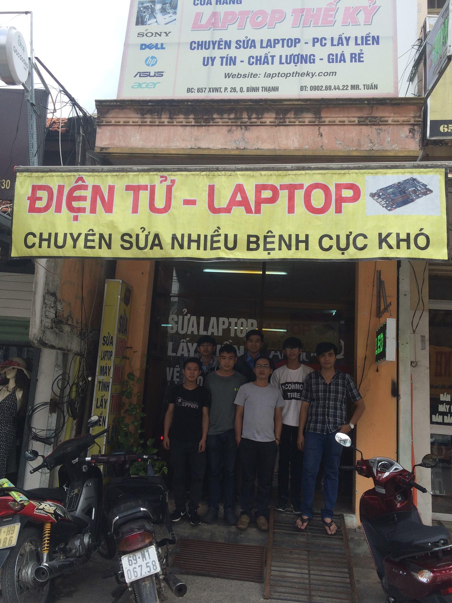 hoc sua laptop